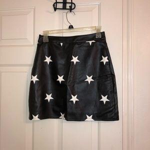 Nasty gal star skirt
